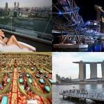 Сингапурский курорт-казино Марина Бэй Сэндс