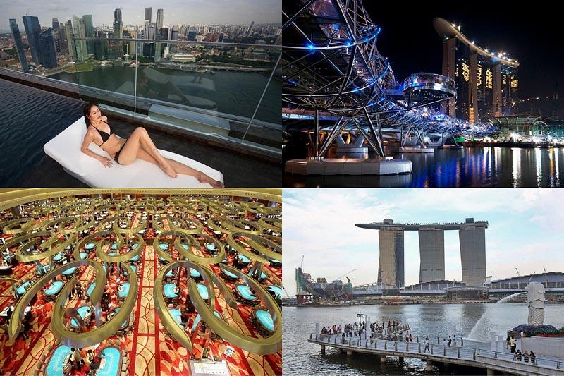 BIGPIC4 Сингапурский курорт казино Марина Бэй Сэндс