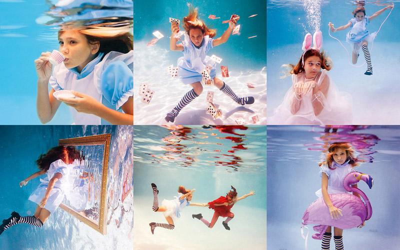 BIGPIC66 Серия фотографий Елены Калис Алиса в Подводной Стране