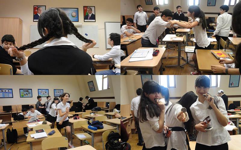 К началу нового ученого года: репортаж из бакинской школы