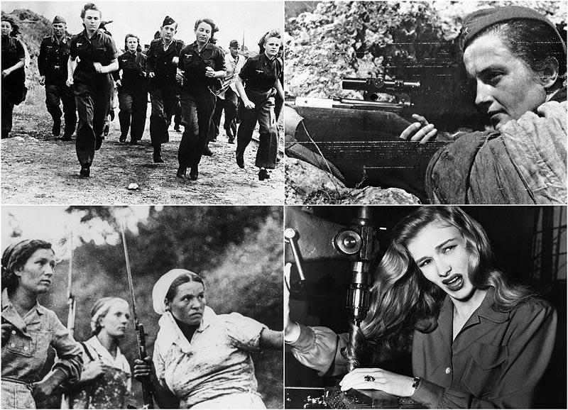 Вторая мировая война женщины на войне