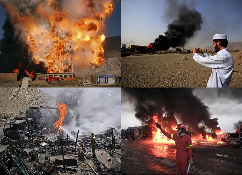 Атаки на линии снабжения НАТО в Пакистане