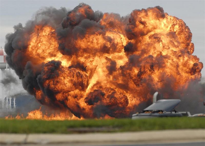Еще один самолет разбился на авиашоу вСША