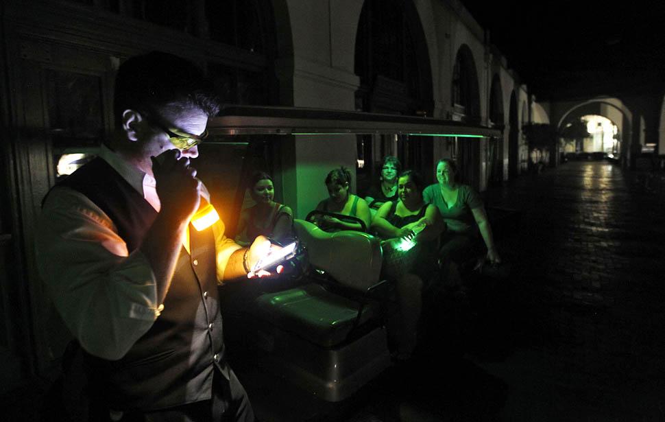blackout02 4 juta orang Amerika tanpa listrik