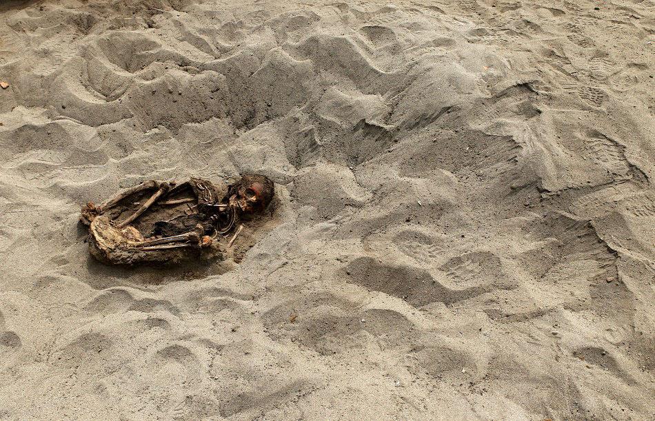 bones02 Di Peru, menemukan sisa-sisa anak-anak dikorbankan