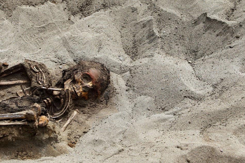 bones04 Di Peru, menemukan sisa-sisa anak-anak dikorbankan