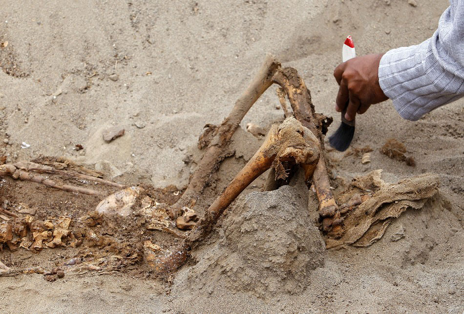 bones05 Di Peru, menemukan sisa-sisa anak-anak dikorbankan