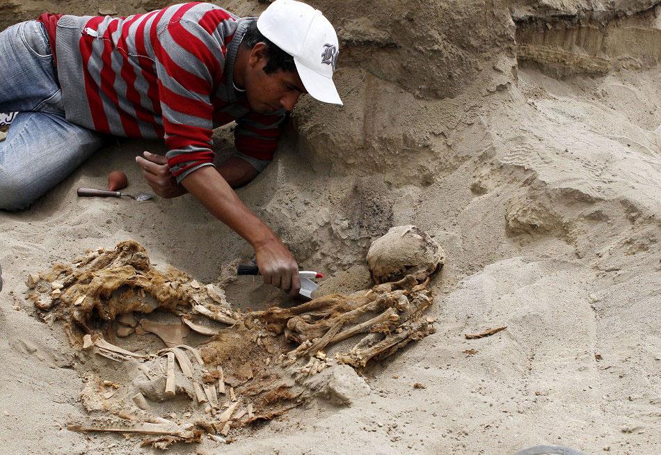 bones07 Di Peru, menemukan sisa-sisa anak-anak dikorbankan