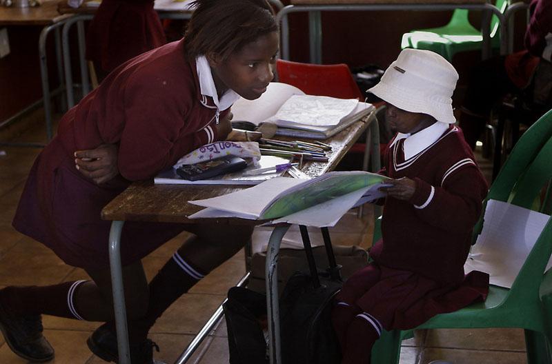 girl07 12 летняя девочка старушка из ЮАР