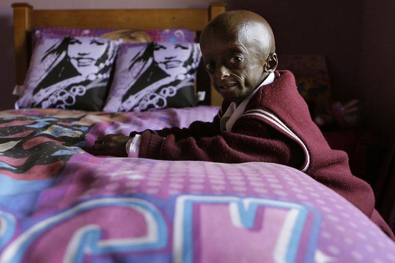 girl08 12 летняя девочка старушка из ЮАР