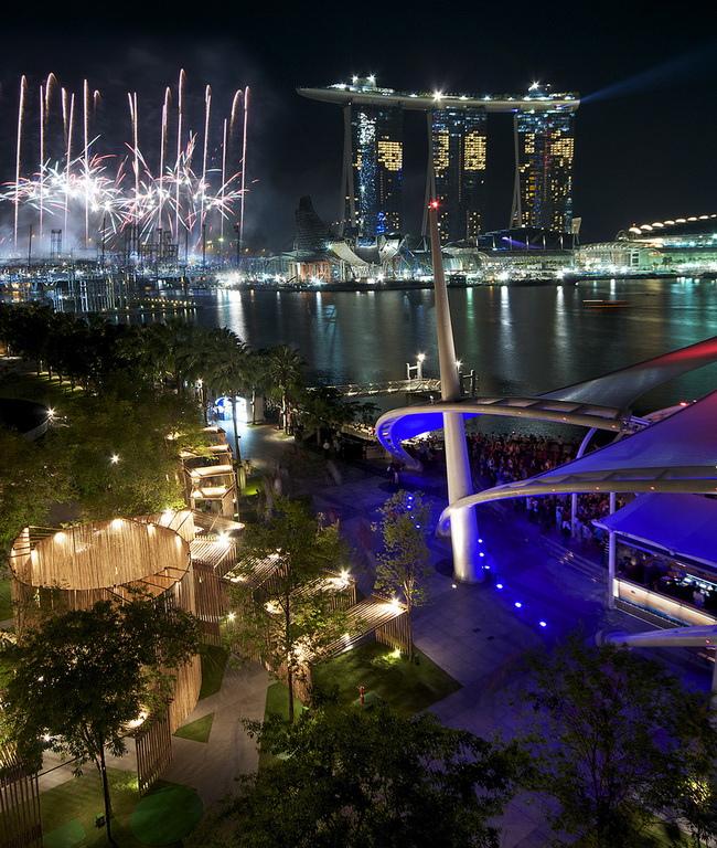Bay Sands Singapore Марина Бэй Сэндс Сингапур