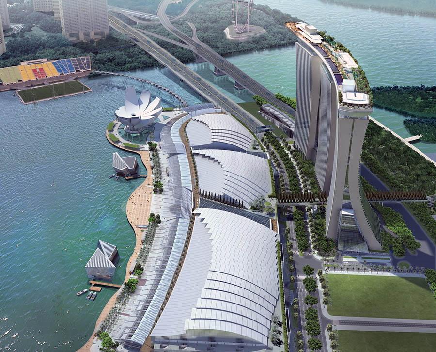 marinabay12 Сингапурский курорт казино Марина Бэй Сэндс