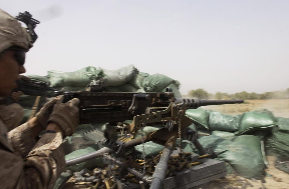 marines05 patroli di Afghanistan dasar 302