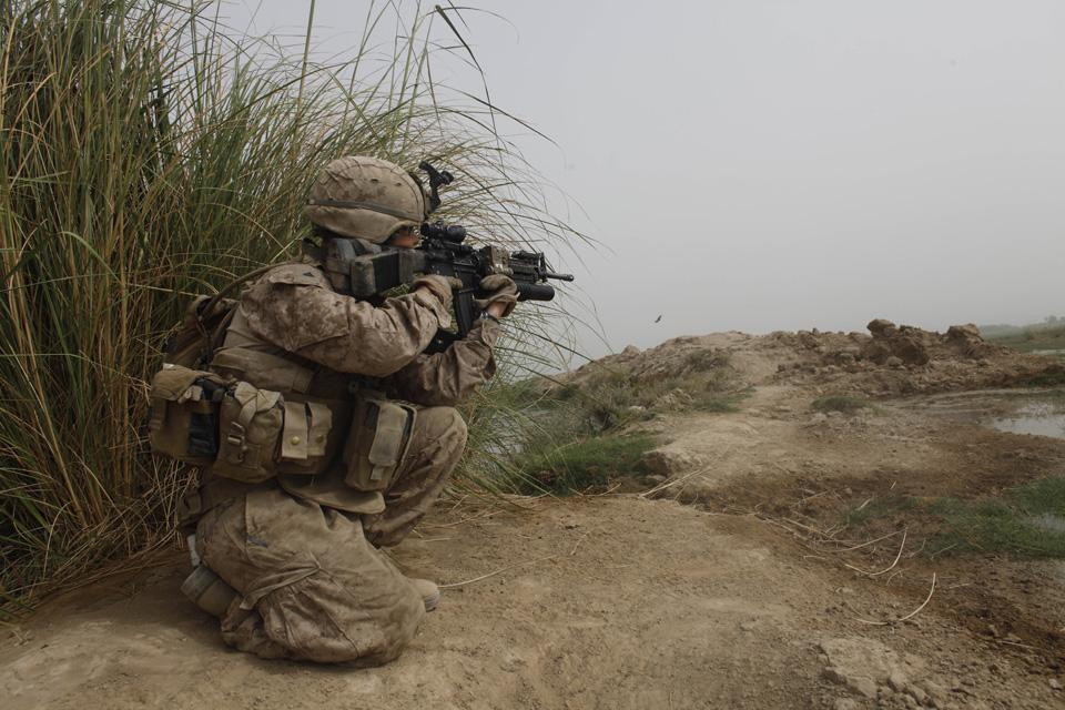 marines24 patroli di Afghanistan dasar 302