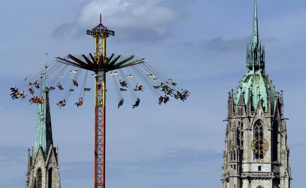 munich13 Munich Oktoberfest se abrió