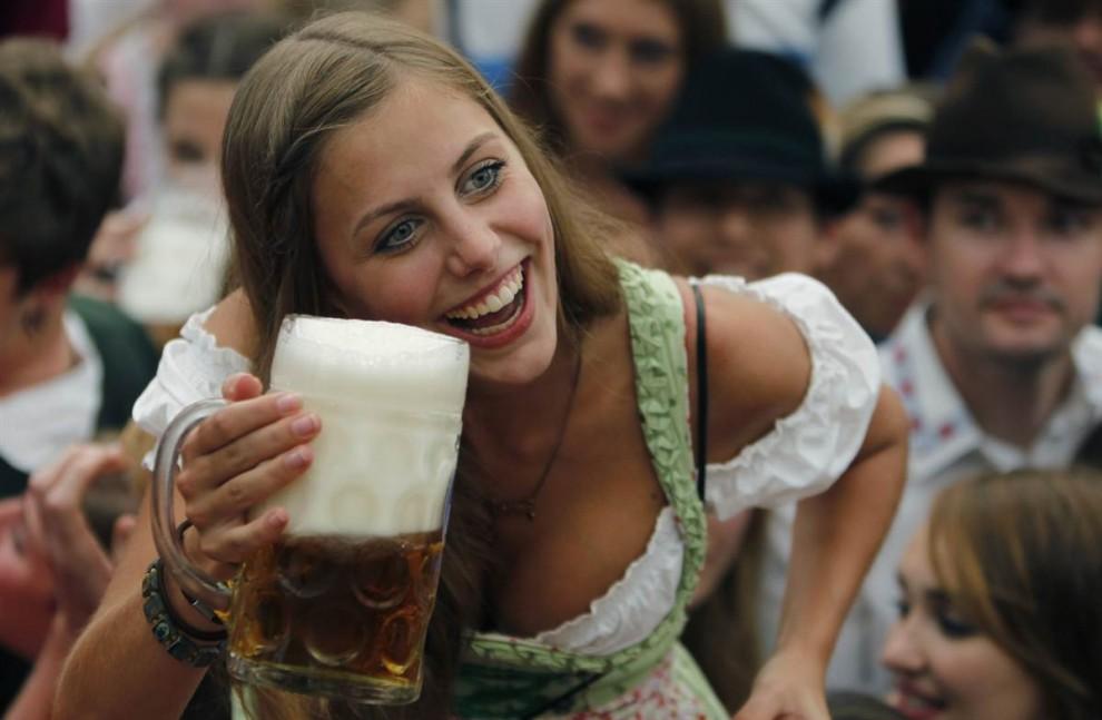 munich14 В Мюнхене открылся пивной Октоберфест
