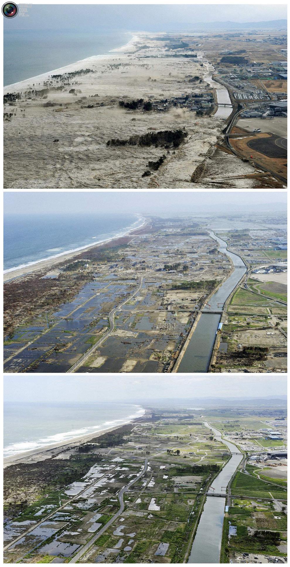 photo048 Природная катастрофа в Японии: сразу после удара стихии и 6 месяцев спустя