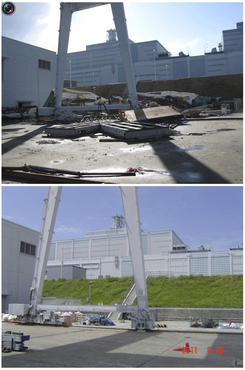 photo078 Bencana alam di Jepang segera setelah dampak dari unsur-unsur dan 6 bulan kemudian