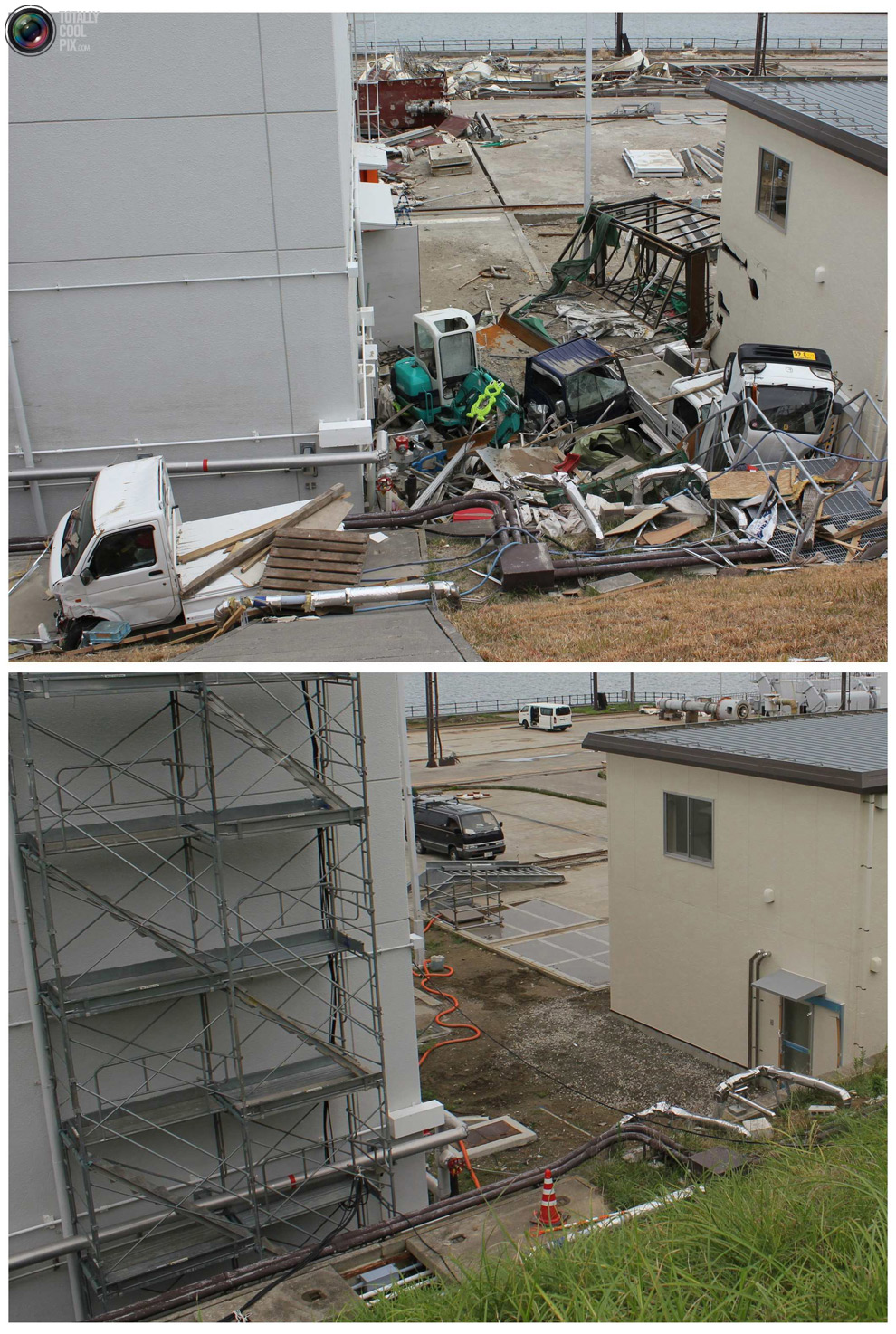 photo088 Bencana alam di Jepang segera setelah dampak dari unsur-unsur dan 6 bulan kemudian