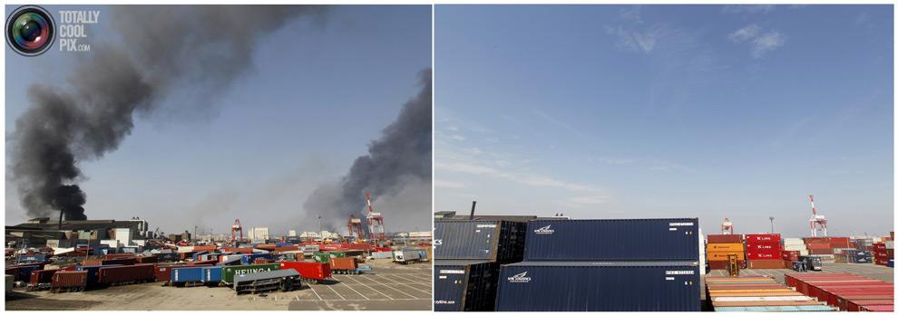photo127 Bencana alam di Jepang segera setelah dampak dari unsur-unsur dan 6 bulan kemudian