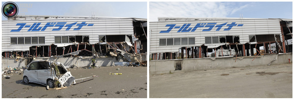 photo161 Bencana alam di Jepang segera setelah dampak dari unsur-unsur dan 6 bulan kemudian