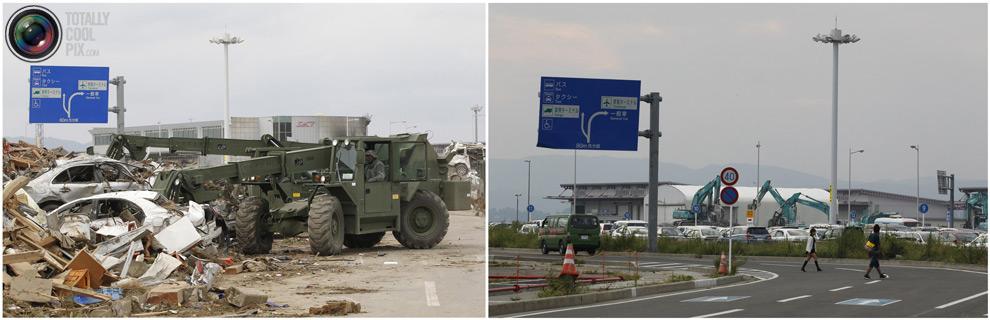 photo181 Bencana alam di Jepang segera setelah dampak dari unsur-unsur dan 6 bulan kemudian
