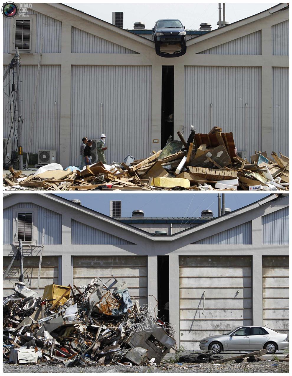 photo191 Bencana alam di Jepang segera setelah dampak dari unsur-unsur dan 6 bulan kemudian