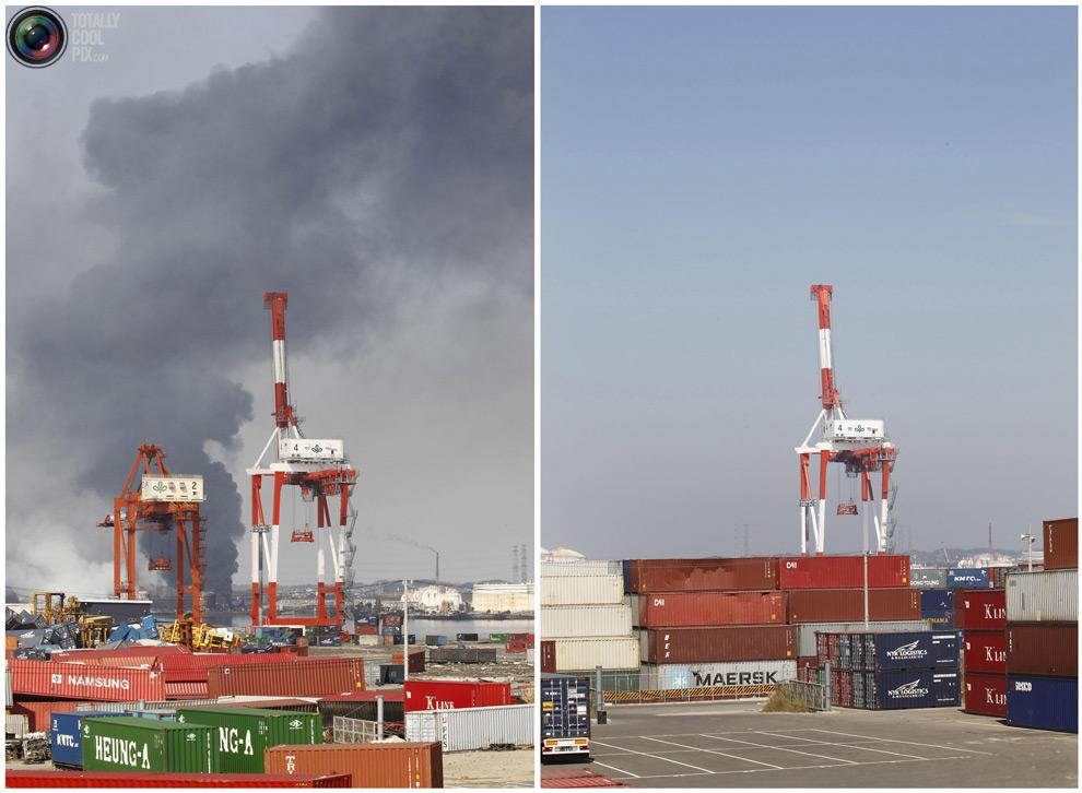 photo201 Bencana alam di Jepang segera setelah dampak dari unsur-unsur dan 6 bulan kemudian