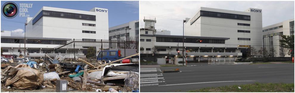 photo211 Bencana alam di Jepang segera setelah dampak dari unsur-unsur dan 6 bulan kemudian