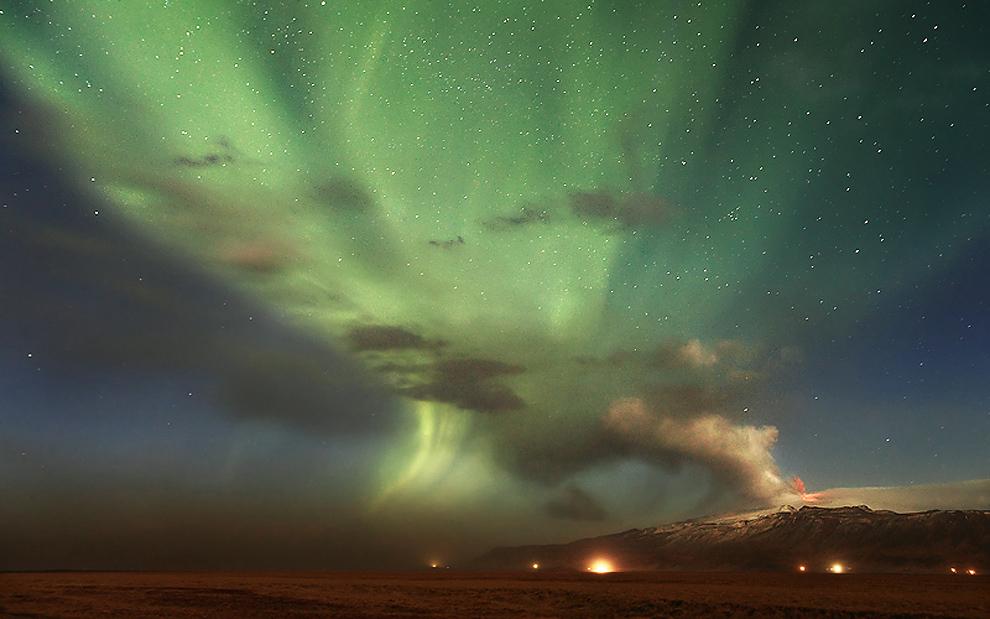 volcano Победители конкурса Астрофотограф 2011