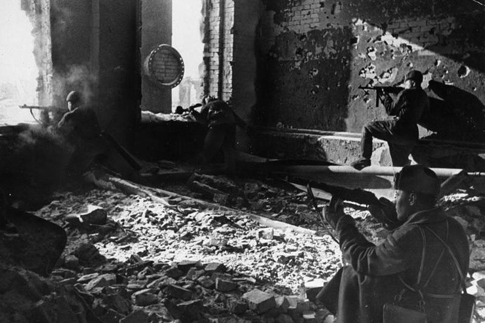 war16 Вторая мировая война: Восточный фронт.  Сталинград в октябре 1942 года
