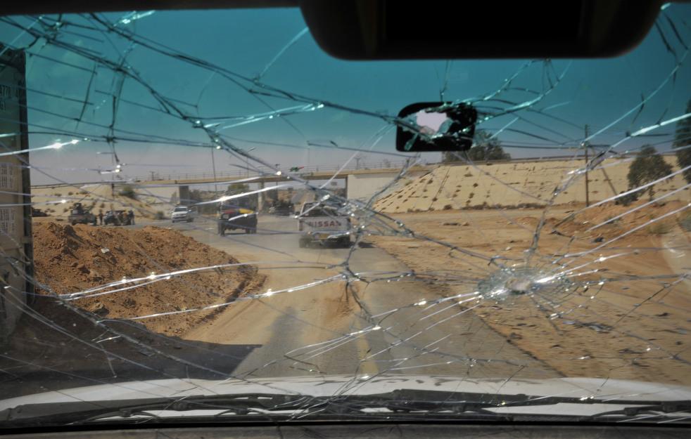 103 Perang di Libya: Sirte pada ofensif