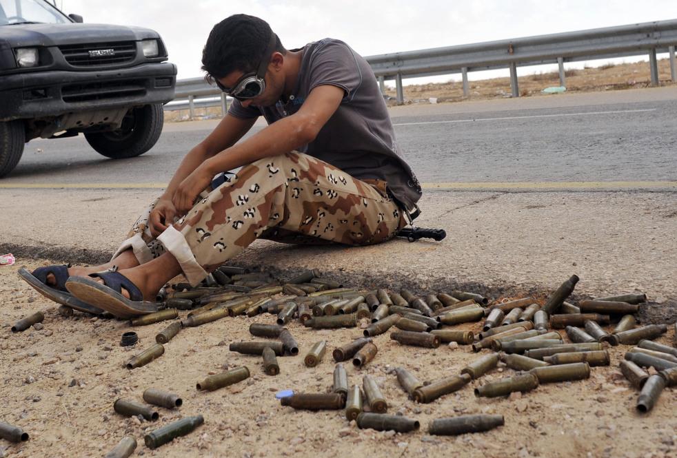 113 Perang di Libya: Sirte pada ofensif