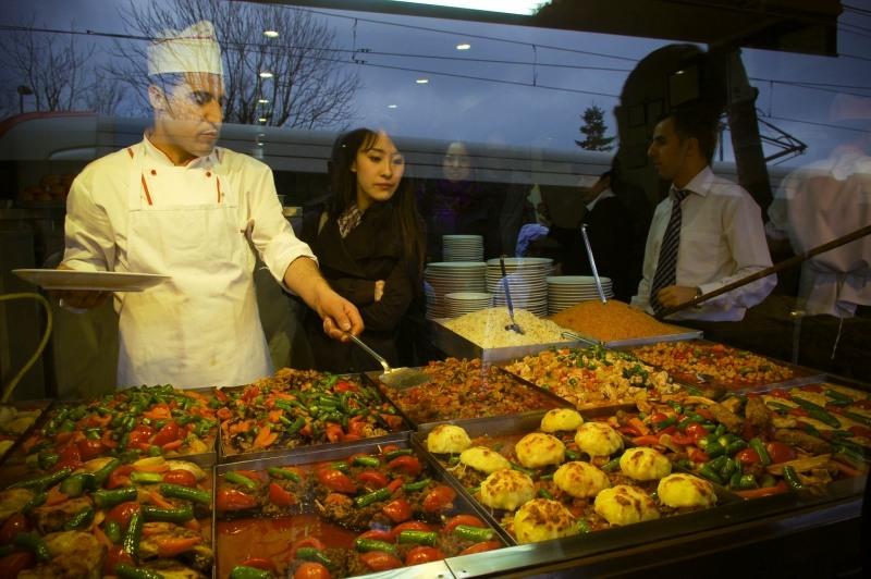 1203 Еда в Стамбуле