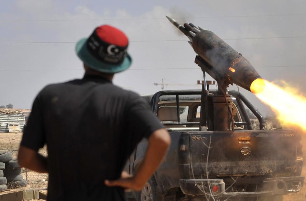 132 Perang di Libya: Sirte pada ofensif