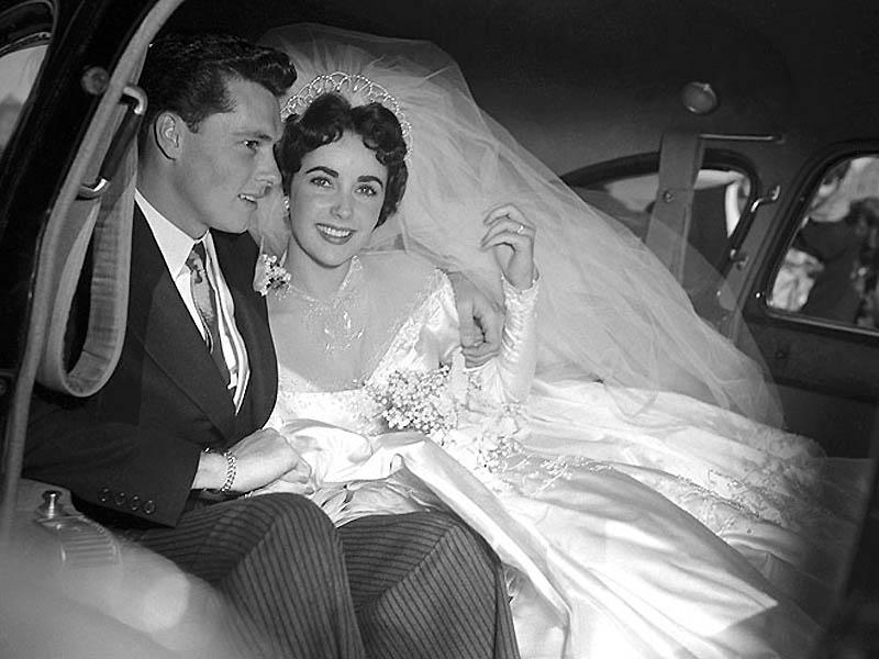 Первая свадьба Элизабет Тейлор