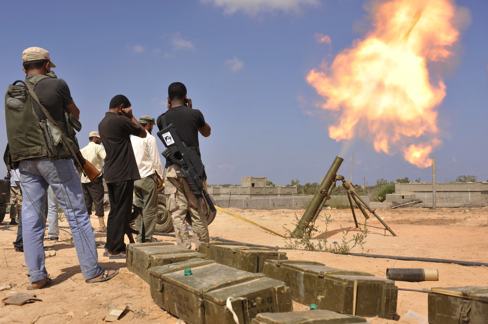 142 Perang di Libya: Sirte pada ofensif