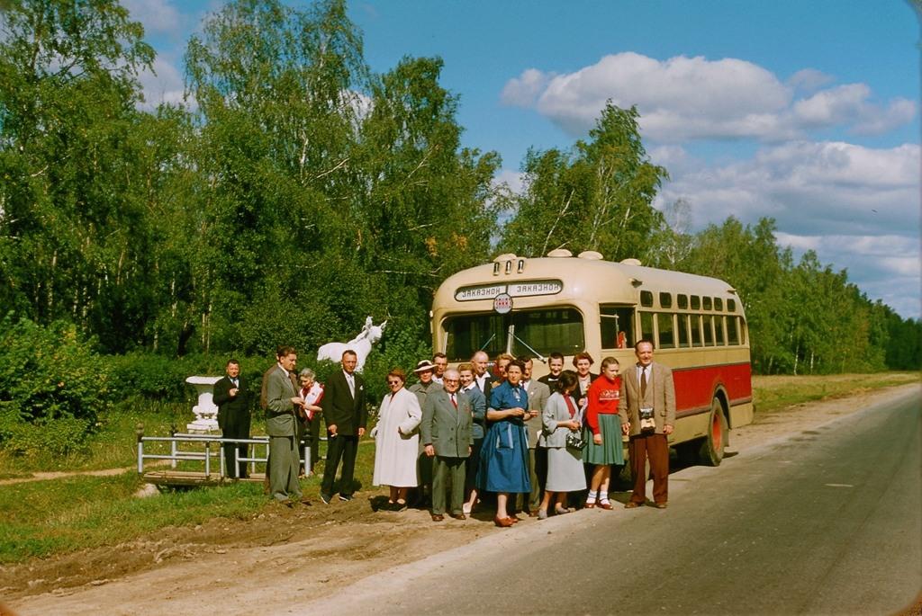 1435 Москва 1956 в фотографиях Жака Дюпакье