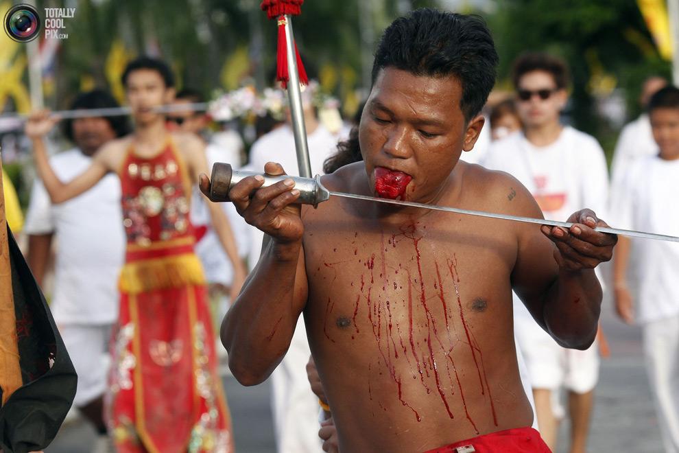 1512 Vegetarian Festival di Thailand
