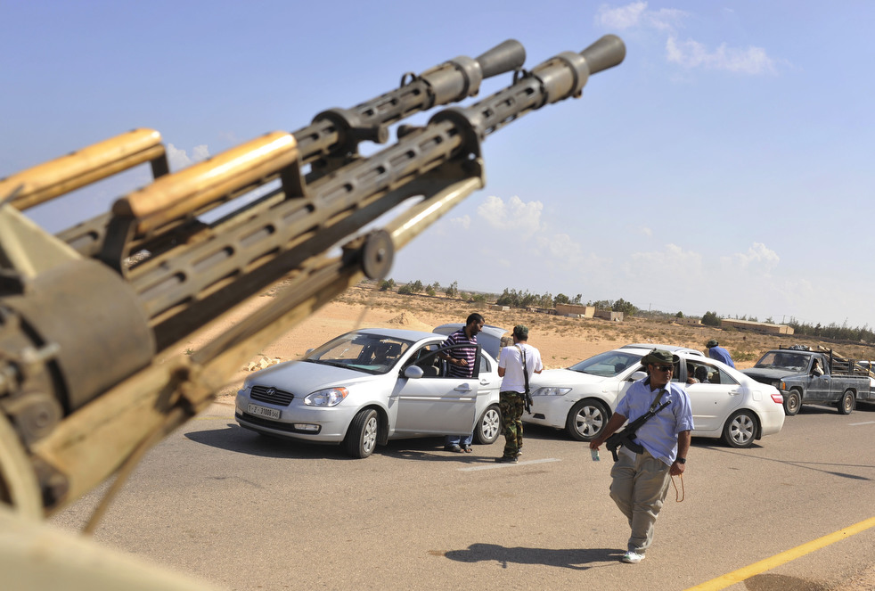 152 Perang di Libya: Sirte pada ofensif