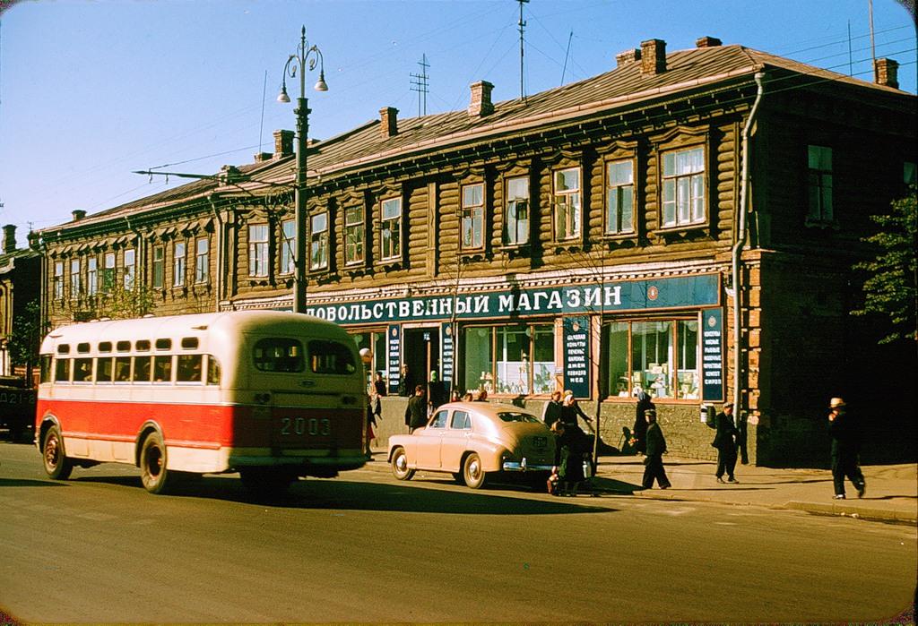 1633 Москва 1956 в фотографиях Жака Дюпакье