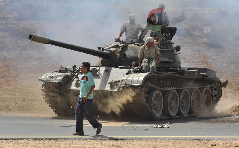 18 Perang di Libya: Sirte pada ofensif