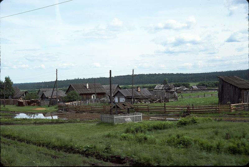 1822 СССР из окна поезда в 1975 году