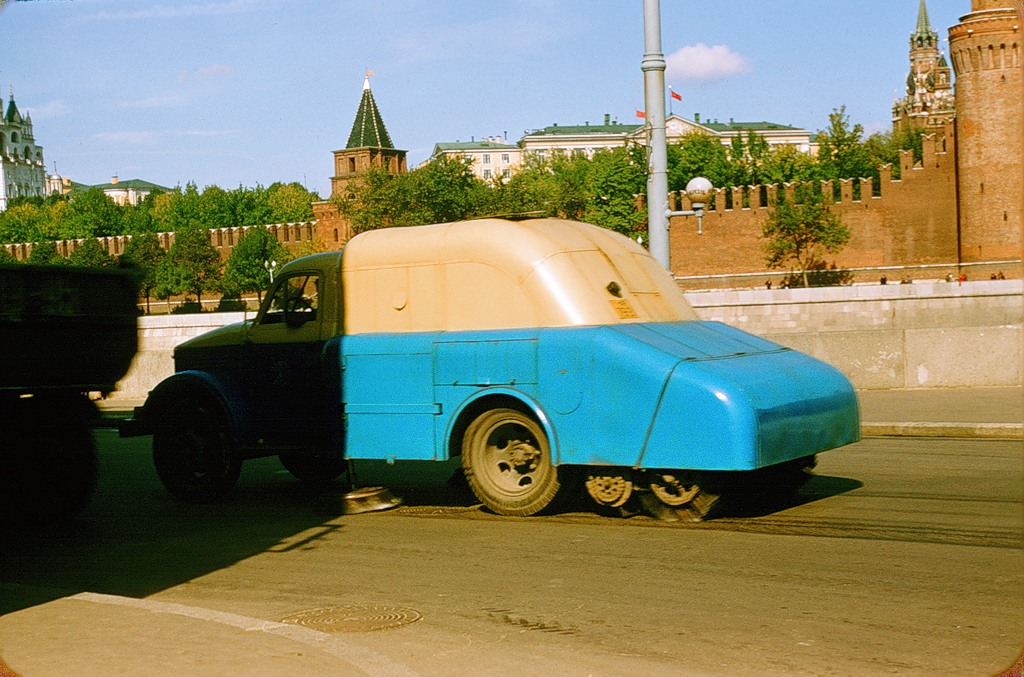 1831 Москва 1956 в фотографиях Жака Дюпакье