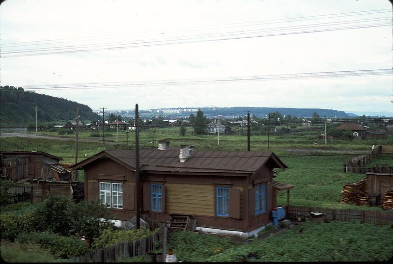1921 СССР из окна поезда в 1975 году