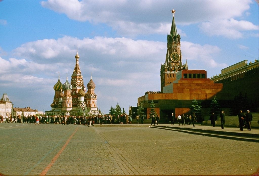 2030 Москва 1956 в фотографиях Жака Дюпакье
