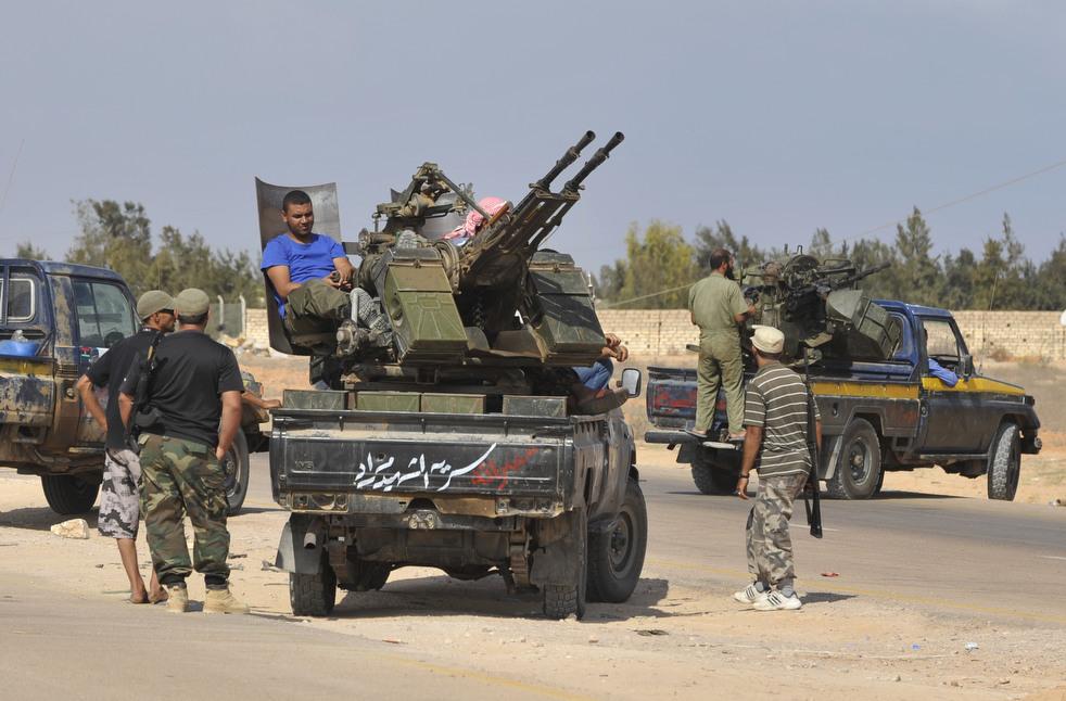 211 Perang di Libya: Sirte pada ofensif