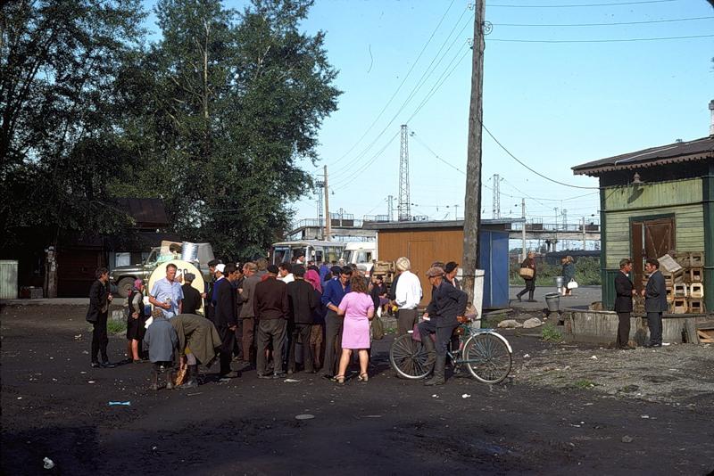 2126 СССР из окна поезда в 1975 году
