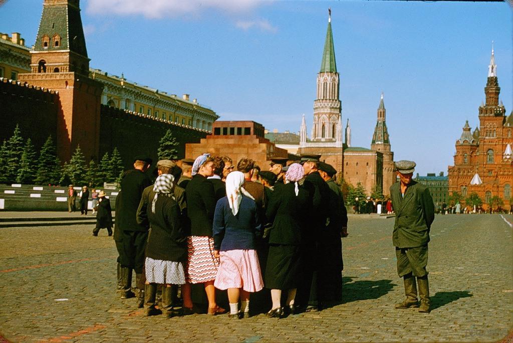 2144 Москва 1956 в фотографиях Жака Дюпакье