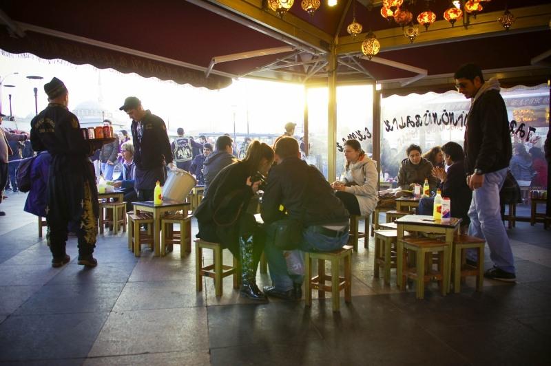 2192 Еда в Стамбуле